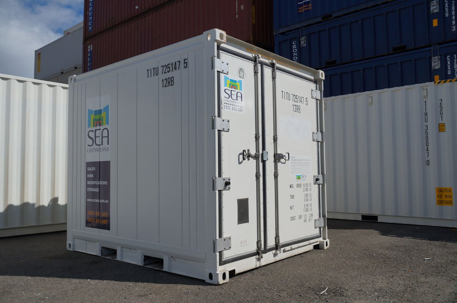 Sea Containers - Refrigerated Containers Perth, Refrigerated