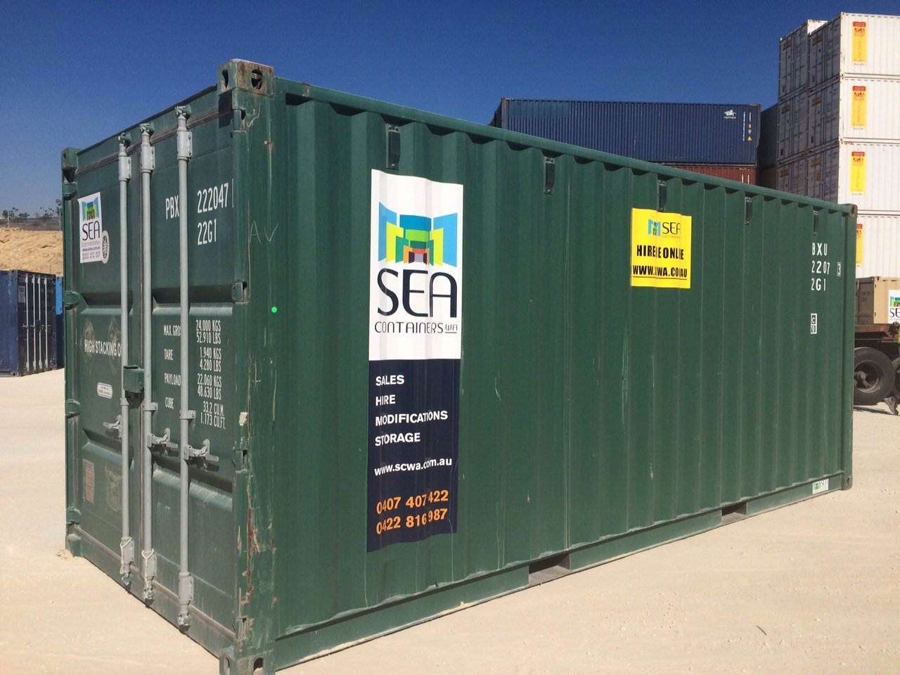 Sea Containers - Shipping Container Sales Perth, SEA